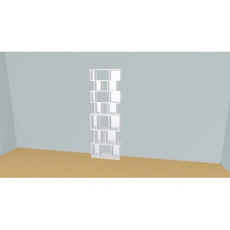 Boekenkast op maat (H212cm - B80 cm)