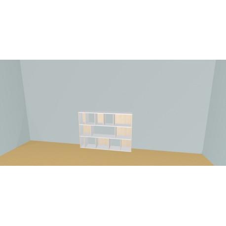 Custom bookcase (H109cm - W170 cm)