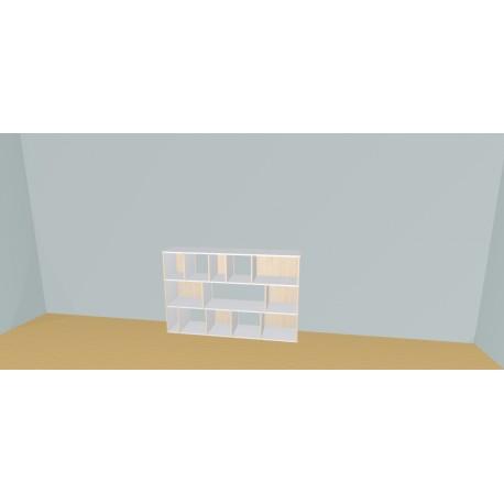 Meuble Bibliothèque sur-mesure (H109cm - L170 cm)