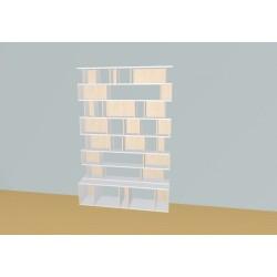 Custom bookcase (H215cm - W160 cm)