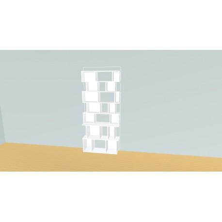 Boekenkast op maat (H203cm - B93 cm)