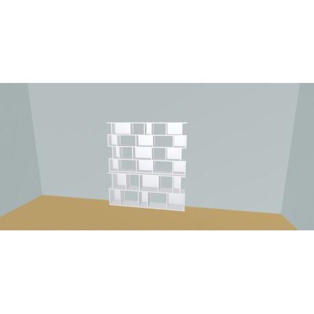 Boekenkast op maat (H176cm - B180 cm)