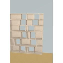 Meuble Bibliothèque sur-mesure (H191cm - L160 cm)