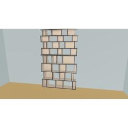 Custom bookcase (H248cm - W170 cm)
