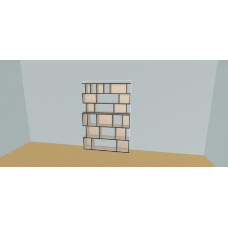 Custom bookcase (H191cm - W150 cm)
