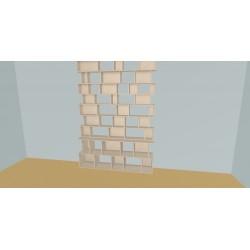 Custom bookcase (H304cm - W200 cm)