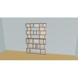 Custom bookcase (H129cm - W99 cm)