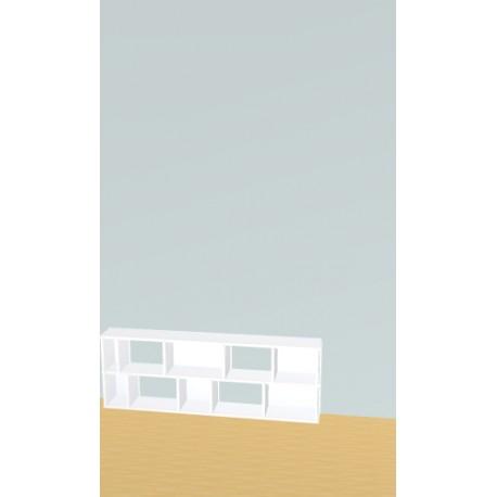 Meuble Bibliothèque sur-mesure (H49cm - L140 cm)