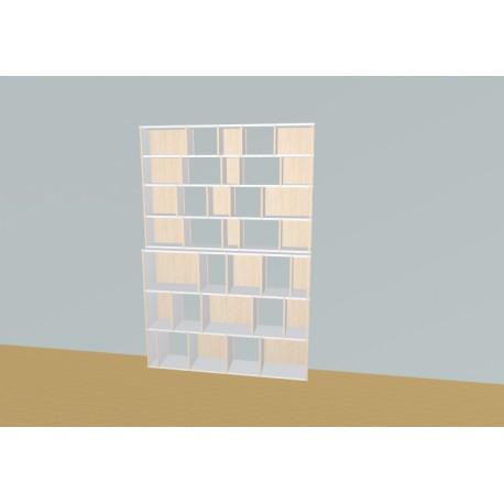 Meuble Bibliothèque sur-mesure (H212cm - L161 cm)