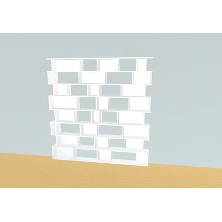 Boekenkast op maat (H207cm - B200 cm)