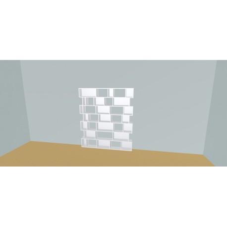 Boekenkast op maat (H177cm - B170 cm)