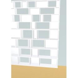 Boekenkast op maat (H248cm - B199 cm)