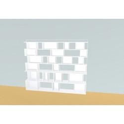 Boekenkast op maat (H176cm - B220 cm)