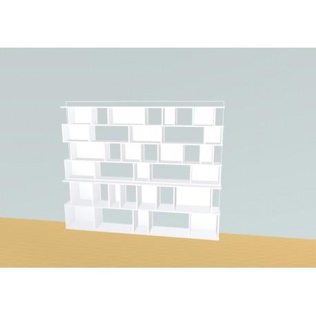 Meuble Bibliothèque sur-mesure (H176cm - L220 cm)