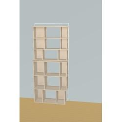 Custom bookcase (H191cm - W85 cm)