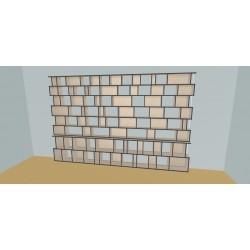 Custom bookcase (H230cm - W400 cm)