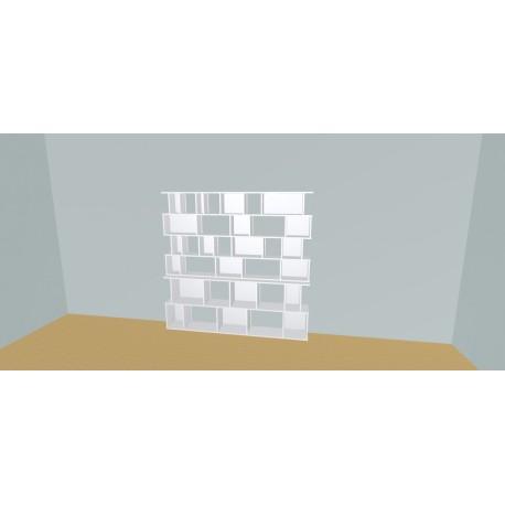 Custom bookcase (H182cm - W210 cm)