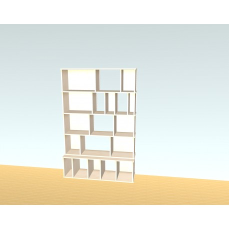 Custom bookcase (H183cm - W120 cm)