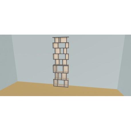 Custom bookcase (H239cm - W85 cm)