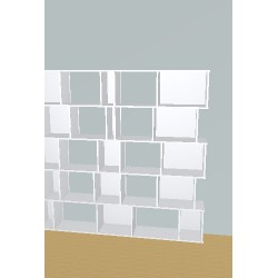 Boekenkast op maat (H181cm - B210 cm)