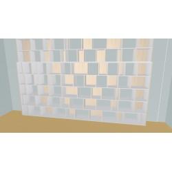 Boekenkast op maat (H290cm - B450 cm)
