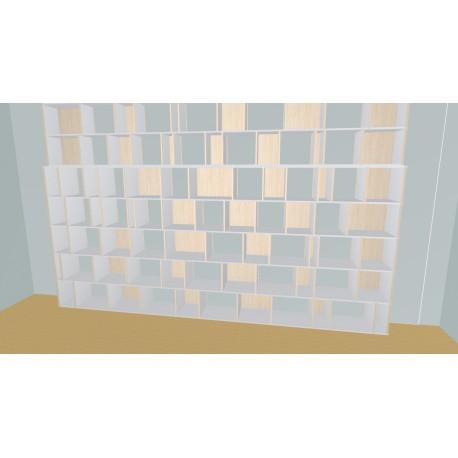 Meuble Bibliothèque sur-mesure (H290cm - L450 cm)