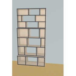 Bookshelf (H220cm - W111 cm)