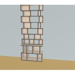 Custom bookcase (H251cm - W100 cm)