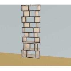 Custom bookcase (H272cm - W100 cm)
