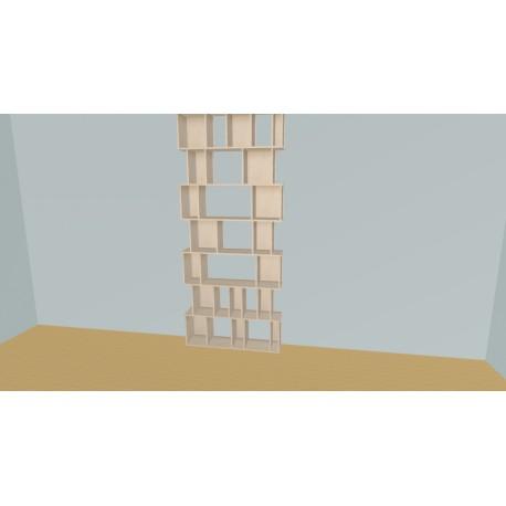Bookshelf (H288cm - W120 cm)