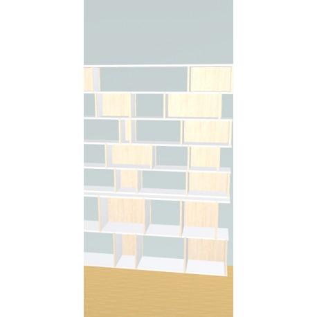 Bookshelf (H194cm - W185 cm)