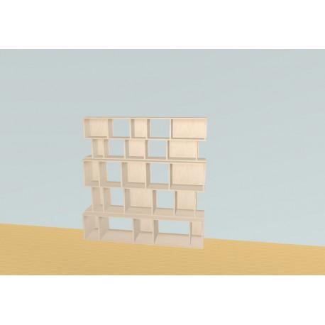 Bookshelf (H166cm - W163 cm)