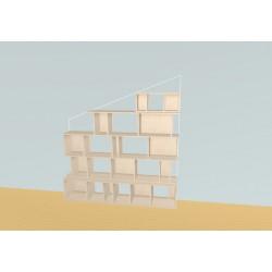 Bookshelf (H175cm - W183 cm)