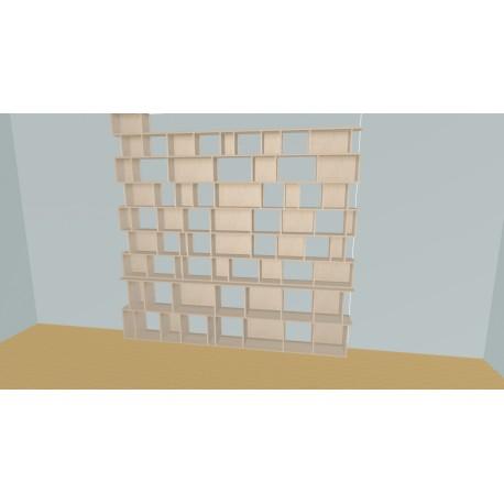 Bibliotheek (H257cm - B289 cm)