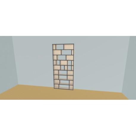 Bookshelf (H216cm - W110 cm)