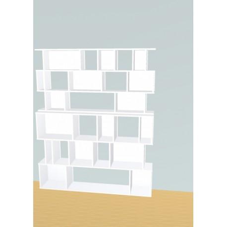 Bibliothèque (H191cm - L156 cm)