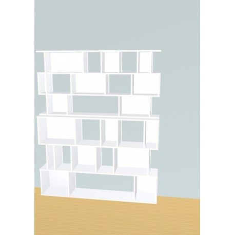 Bookshelf (H191cm - W156 cm)