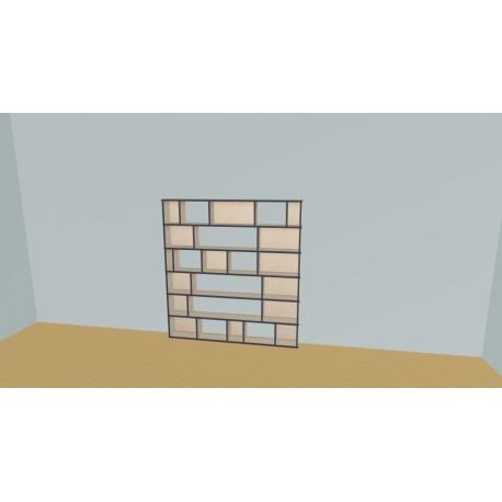 Bookshelf (H163cm - W170 cm)