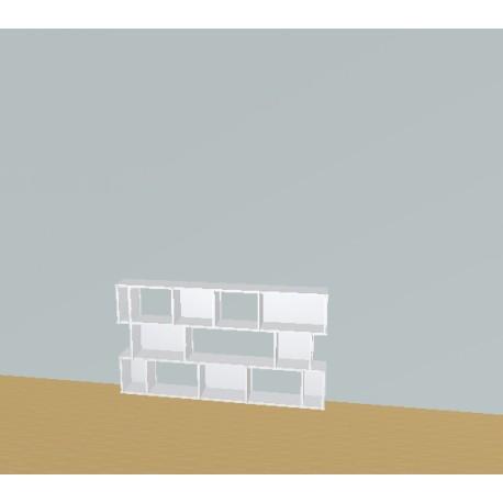 Bookshelf (H82cm - W165 cm)