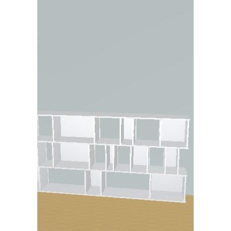 Bookshelf (H109cm - W235 cm)