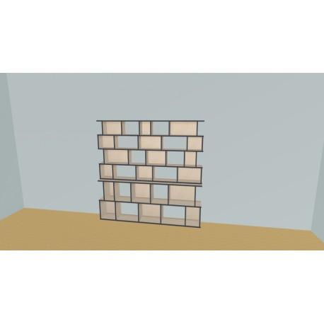 Bookshelf (H176cm - W200 cm)