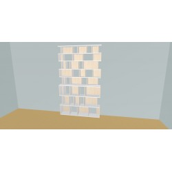 Bookshelf (H239cm - W160 cm)