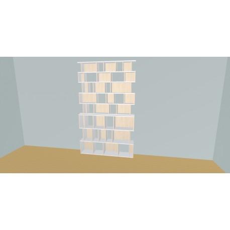 Bibliotheek (H239cm - B160 cm)