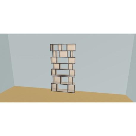 Bibliotheek (H209cm - B120 cm)