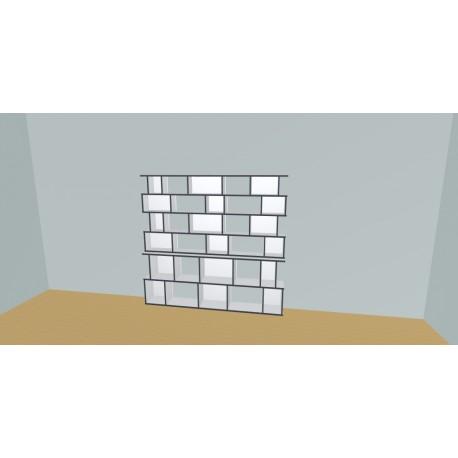 Bookshelf (H176cm - W210 cm)