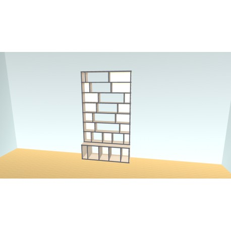 Bookshelf (H209cm - W130 cm)