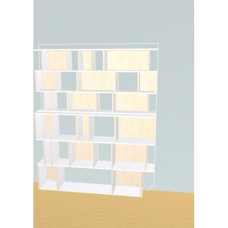 Bookshelf (H191cm - W160 cm)