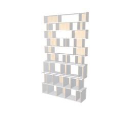 Boekenkast op maat (H262cm - B151 cm)