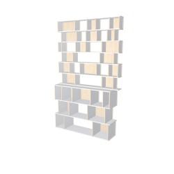 Boekenkast op maat (H262cm - B160 cm)