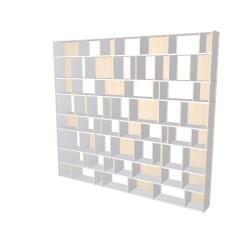 Custom bookcase (H243cm - W275 cm)